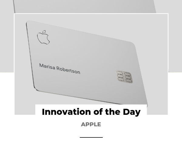 Innovation of the Day Apple