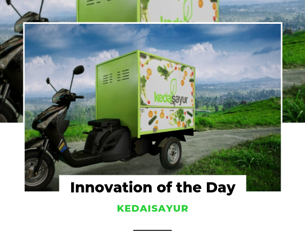 Innovation of the Day KEDAISAYUR
