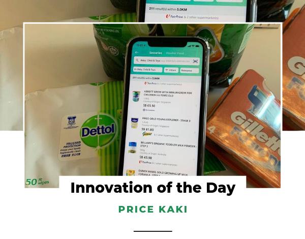 Innovation of the Day Price Kaki