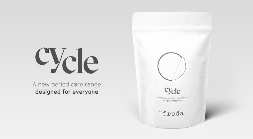 A packet of Cycle's period products