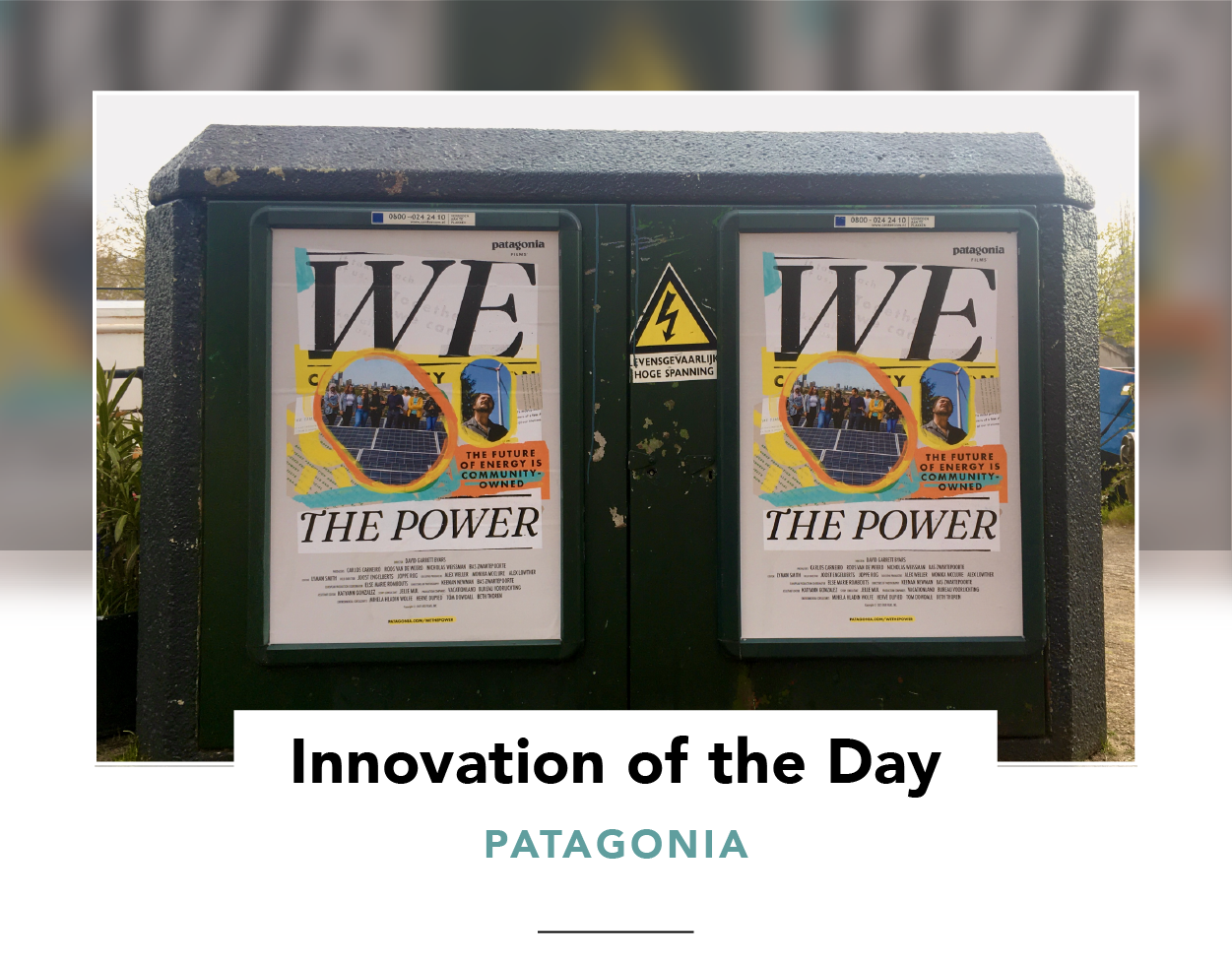 Two posters for We the Power