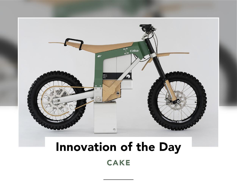 Side view of CAKE's Kalk AP electric bush bike