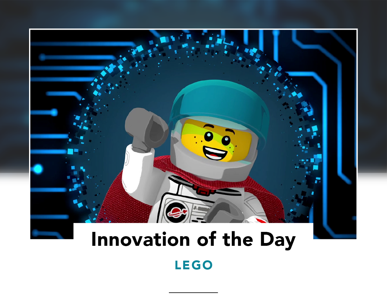 Captain Safety, a LEGO character who teaches kids to be online heroes