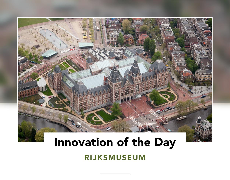 Birds-eye view of the Rijksmuseum