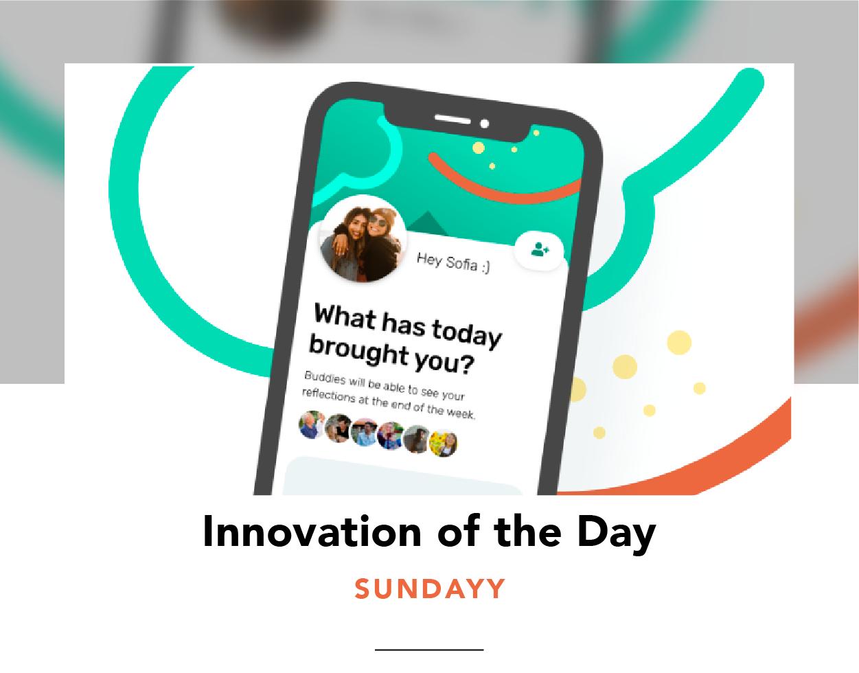 Sundayy app on a phone